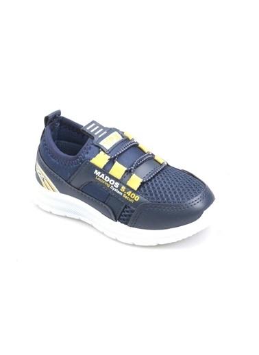 Papuçcity Bolimex 3030 Lacivert Erkek Çocuk Fileli Günlük Spor Ayakkabı Lacivert